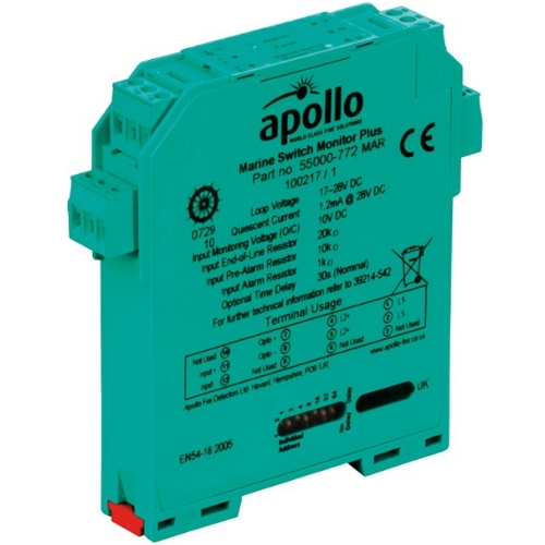 Apollo Marine DIN-Rail Switch Monitor Plus 55000-772MAR