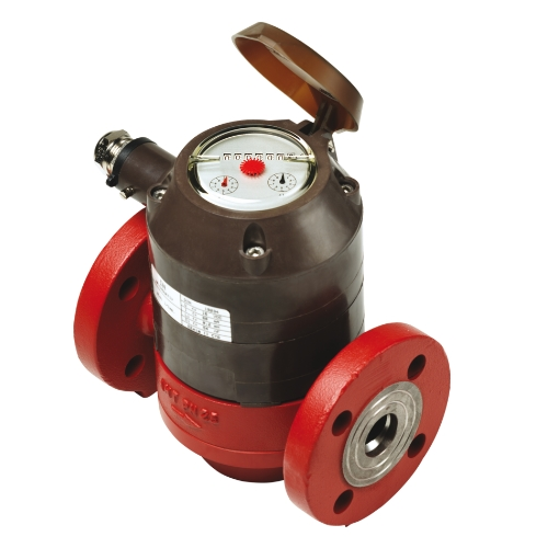 Aquametro Contoil VZO 40 FL 130/25 Flanged Mechanical Oil Meter