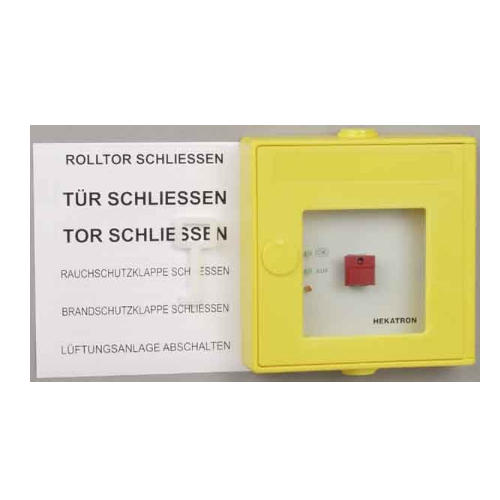 Hekatron DKT02 GE Manual Release Button 6200107